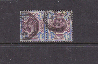 GREAT BRITIAN COLLECTION.  QUEEN VICTORIA 9d x 2 JUBILEE USED.