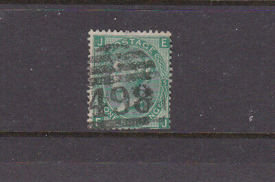 Great Britian Collection.  Queen Victoria 1/- Plate 5. No.2.