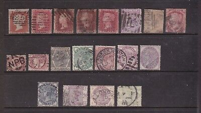 Great Britain Collection. Queen Victoria. Various Issues.