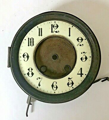 Antique Wall Clock Face, Arabic Numbers
