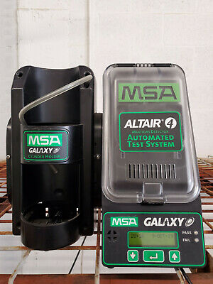 MSA Galaxy Altair 4 Automated Test System Cylinder Holder multigas detector