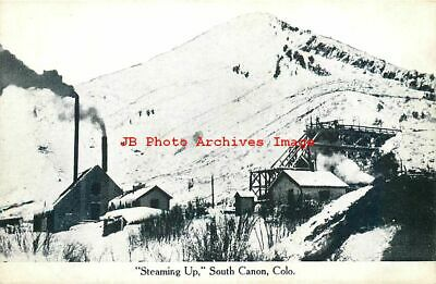 CO, South Canon, Colorado, Steaming Up, Mining Scene, Mine