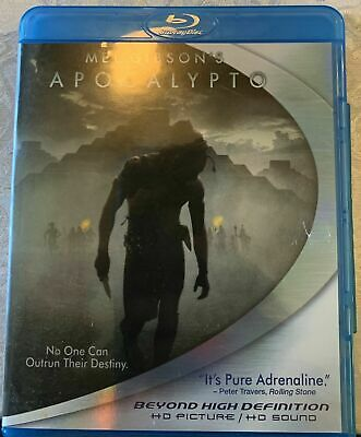 Apocalypto (Blu-ray Disc, 2007) OOP NEW & SEALED!