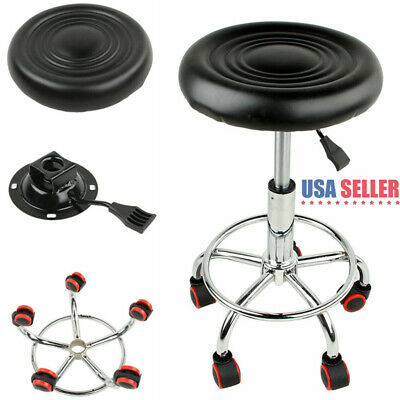 Awesome 1 Pc Adjustable Hydraulic Rolling Swivel Bar Stool Massage Short Links Chair Design For Home Short Linksinfo