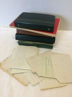 Vintage 1960's Handwritten Diary Lot by a Teenage Girl lived in Minneapolis MN