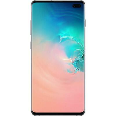 "Samsung Galaxy S10+ Plus (4G/LTE, 6.1"", 128GB/8GB, Opt) - Prism White"