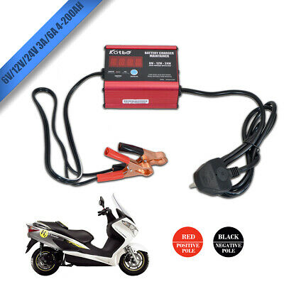 Smart Battery Charger Car Caravan Motorbike Boat Trickle 3/6amp 6v 12v 24v 2019