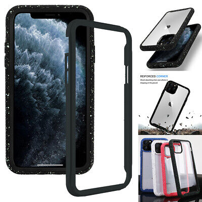 For iPhone 11 Pro Max 2019 Hybrid Rugged Bumper Shockproof Heavy Duty Hard Cover