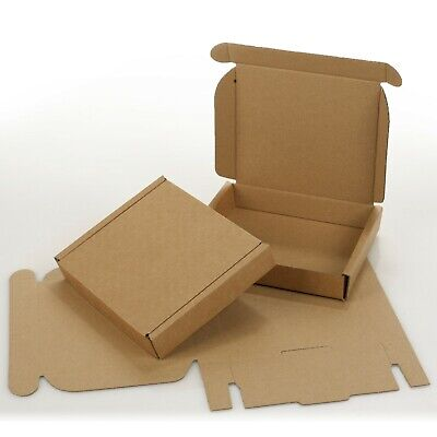 Small Royal Mail Large Letter Cardboard Postal Pizza Style Mailing Folding Boxes
