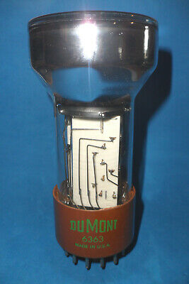 Nos Dumont 6363 Photomultiplier Tube 3 Inch 14 Pin Guaranteed
