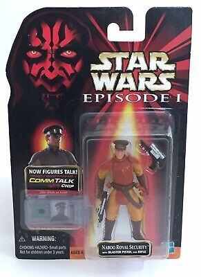 Star Wars Episode 1 The Phantom Menace Naboo Royal Security Guard Action Figure