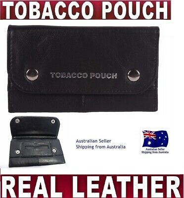 super GRADE NAPPA SOFT LEATHER TOBACCO POUCH SMOKE CIGARETTE CASE FILTERS PAPERS