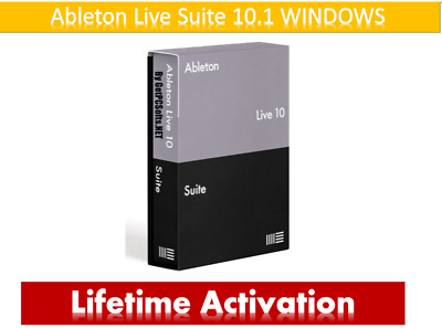 🔥NEW Ableton Live Suite v10.1 2019 Making Music Fast delivery For WINDOWS
