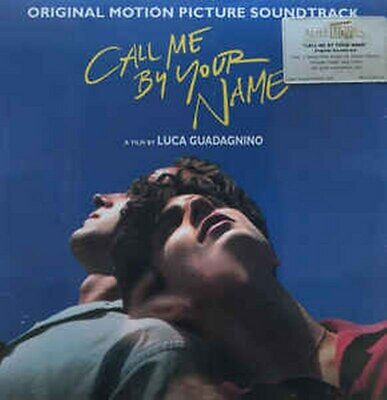 Call Me By Your Name (Soundtrack) [2LP] BLACK 180 Gram Audiophile Vinyl, Poster