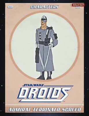 Topps Star Wars Digital Card Trader: Droids Adv. Of R2 & 3PO- Admiral Screed