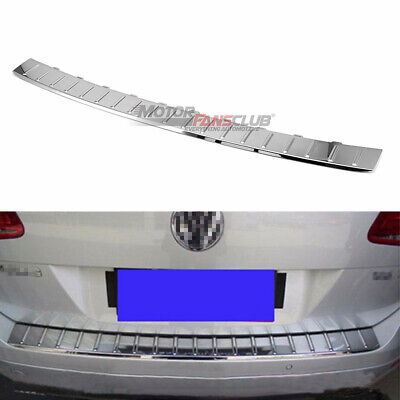 S.steel Door Sill Scuff Plate Guards Insert For VW Touareg 2011-2017