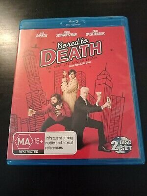 Bored to Death Season 2- Brand new and sealed- Blu ray- Region B