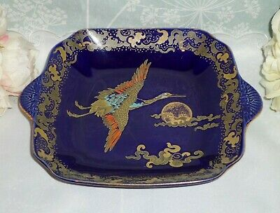 Vintage Art Deco Hales Hancock & Godwin Ltd Golden Moon Platter