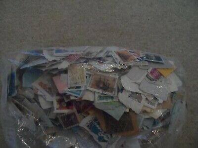 500g World stamps on/off paper no GB kiloware