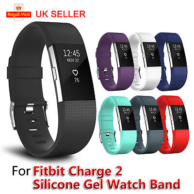 For FitBit Charge 2 Strap Replacement Band Metal Buckle Wristband Accessory