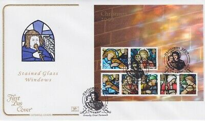 Gb Stamps Mini Sheet First Day Cover 2009 Christmas Superb Cotswold Collection