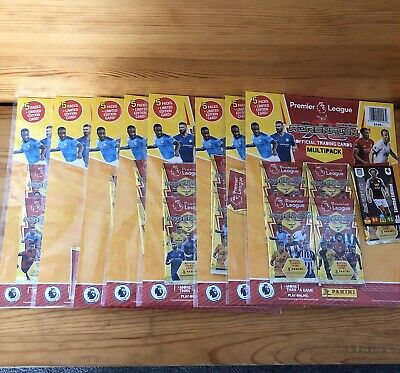 Panini Premier League 2019/20 Adrenalyn XL 8 Multi packs 19/20 Season Brand New