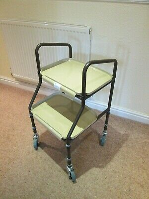 1851 Height Adjustable Disabled Carer / Medicines Trolley Used