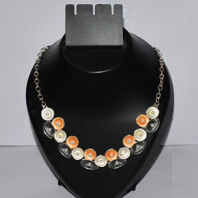 Vintage Style Stylish Old Pattern Silver Plated Necklace Jewellery