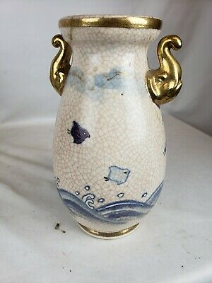 Excellent antique japanese vase with old repairs
