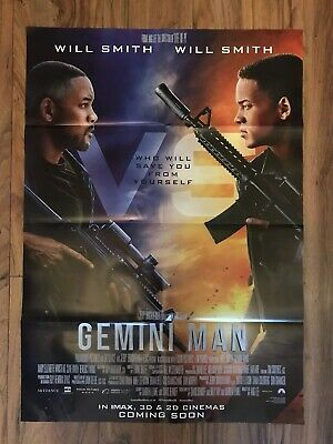 Official Odeon Gemini Man Poster Magazine, Will Smith NEW