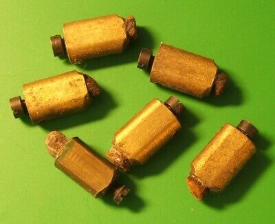 CLOCK PARTS SPARES - HAMMER TIPS - STRIKER - CHIME - GONG - MIX LOT OF 6pcs -
