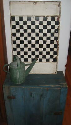 Excellent Antique Primitive Cupboard Best Old Blue Paint Aafa  Nr