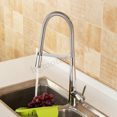 Heavy Duty Luxury Pull Down Kitchen Sink Faucet Single Handle Cold/Hot Mixer Tap