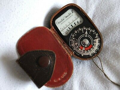 Sangamo Weston Master 111 Light Meter And Case