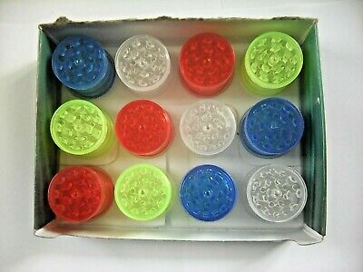 4 PART 30mm MAGNETIC BABY ACRYLIC GRINDERS, FOR GRINDING HERBS/TOBACCO/GRASS