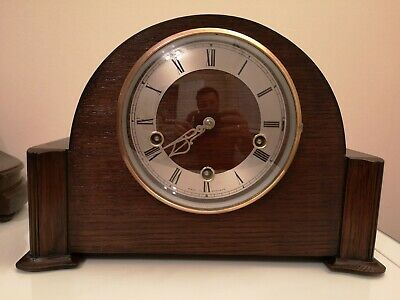 Smith's Enfield Westminster Chime Mantel Clock (1952)