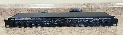Alesis 3630 Compressor Limiter with Gate RMS/Peak Dual Channel Pre-owned