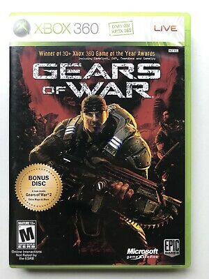 Gears of War -- Two-Disc Edition (Microsoft Xbox 360, 2008) Complete