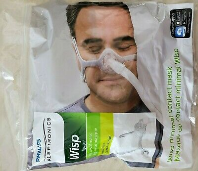 Wisp Nasal CPAP Mask with Headgear - Fit Pack S/M, L, XL, New 1094051