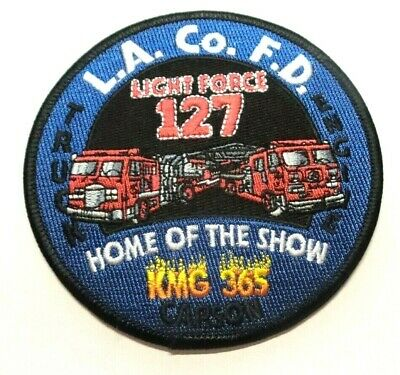 Los Angeles County California Fire Dept Light Force 127 Patch Unused