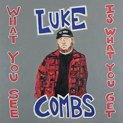 What You See Is What You Get Luke Combs Country Audio CD Discs 1,November 8,2019
