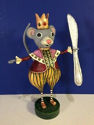 MOUSE KING The Nutcracker Christmas Lori Mitchell figurine NEW!