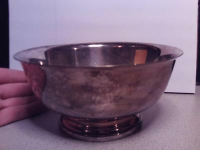 "Vintage GORHAM SILVER PLATE EP SERVING 6.5"" BOWL YC779 Paul Revere SILVERPLATED"