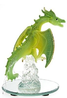 Glass Attacking Dragon - Green - RRP $16.95