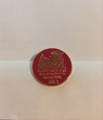Rare Railtown 1897 CA. State Historic Park Souvenir 2013 Member Collectable Pin