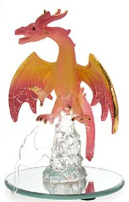Glass Attacking Dragon - Pink - RRP $16.95