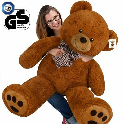 XX Large Brown Teddy Bear Valentines Birthday Easter Gift Kids Giant Child Soft