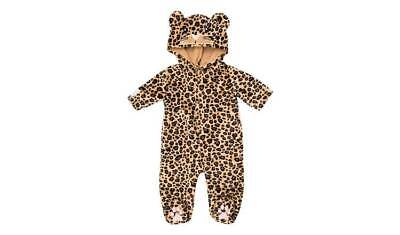 Chad Valley Tiny Treasures Leopard Outfit Added Detail With A Face Embroidered
