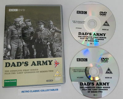 Dad's Army - Series 1 + the lost episodes of Series 2 (DVD, 2004, 2-Disc Set)