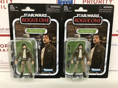 Star Wars The Vintage Collection Cassian Andor VC130 Lot of 2 New